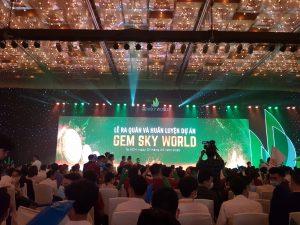 Ra quân dự án Gem Sky World Đồng Nai
